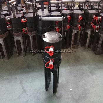 cold extrusion hydraulic steel rebar press connection grip coupler machine