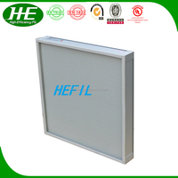 air filter for industry with plastic frame Form E approve