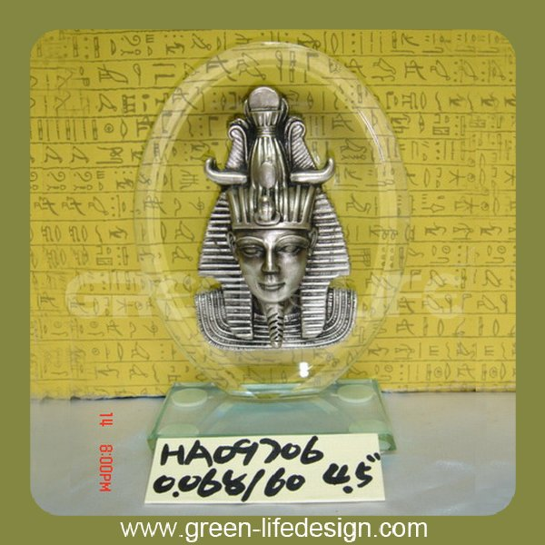 Polyresin pharaoh head egyptian products