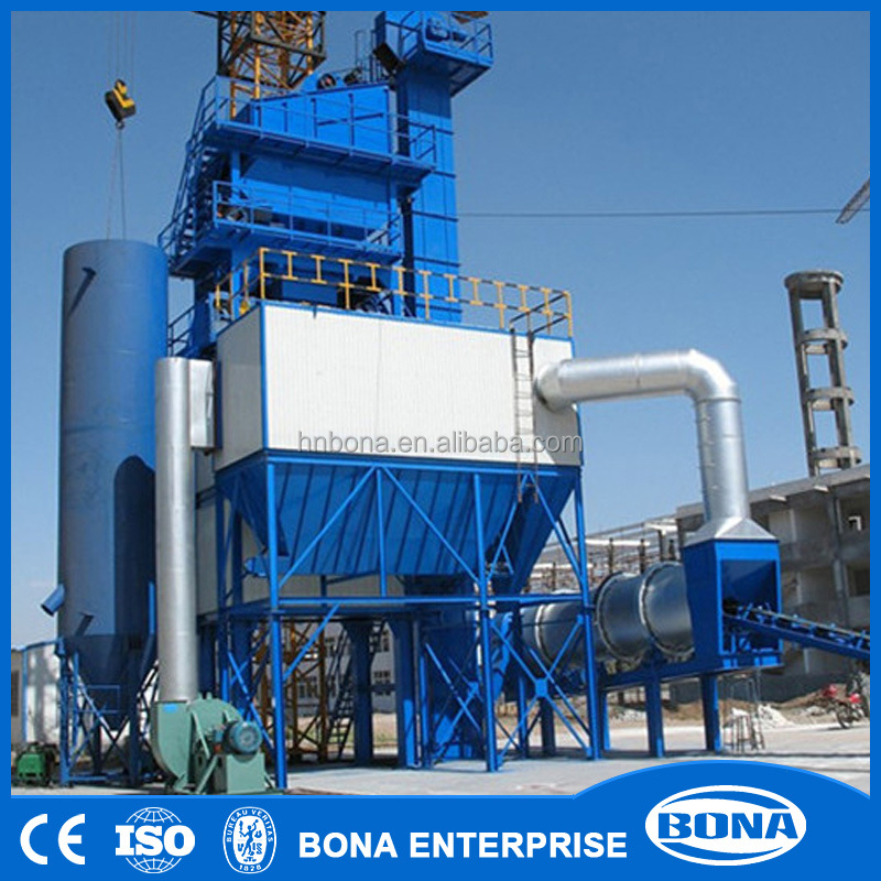 batch type hot bitumen asphalt production plant for sale