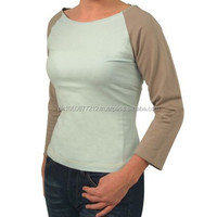 T Shirt Ladies Custom Your Design / Plain T shirt for ladies long sleeve