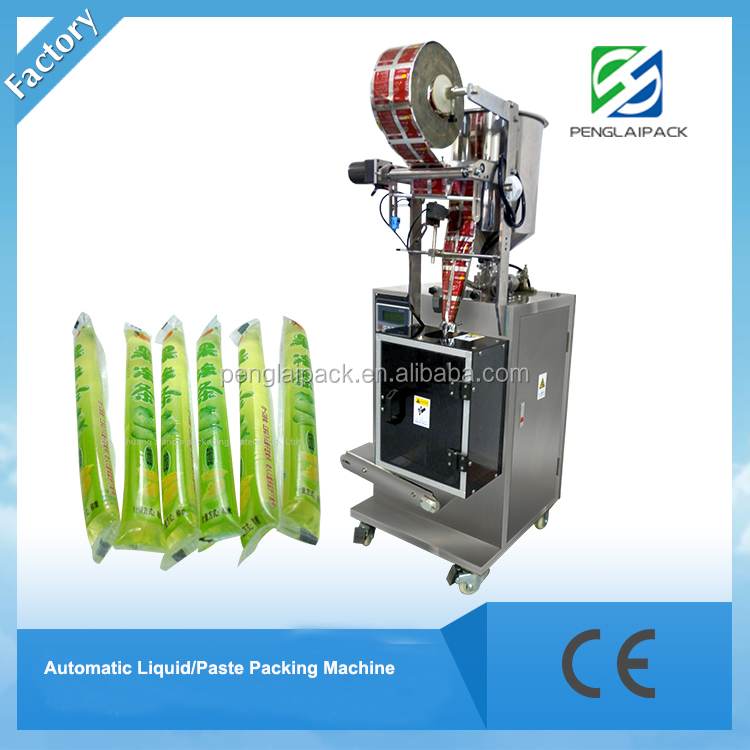 2016 new design juice milk water and shower shapoo automatic Liquid Packing Machine