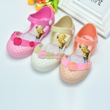 New melissa candy shoes girls flower princess sandals