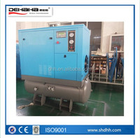 7.5kw 180L combined screw compressor