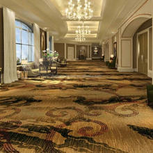 Hand tufted broadloom carpet luxury hotel corridor carpet new design