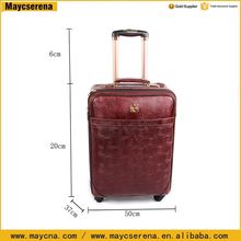Semi finished luggage bag abs printed hard shell luggage traveling luggage roller bag