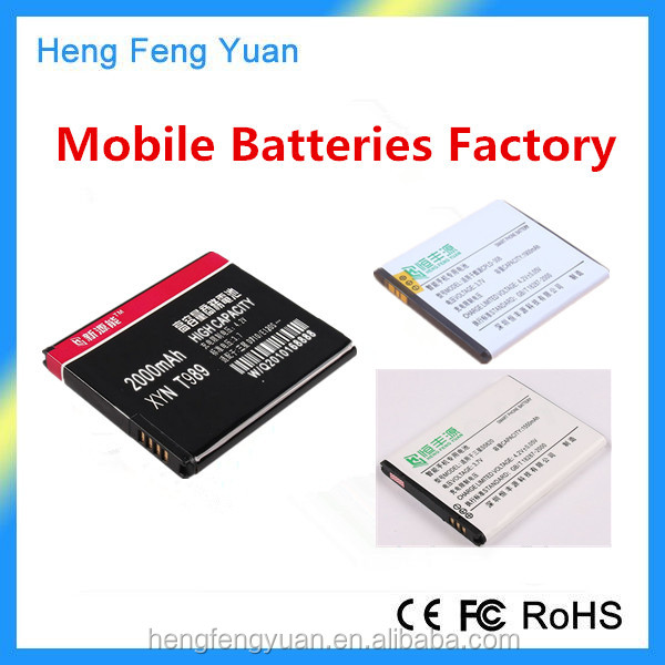 High Quality Replacement Lithium Polymer Mobile Phone Battery for iPhone 4G 4S 5S 5C 6 6S Plus