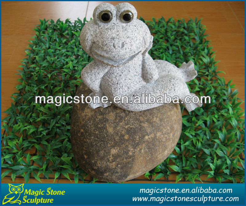 Cheap price cute design yoga frog figurine