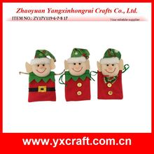 Christmas decoration (ZY17Y119-6-7-8) christmas elf gift design item