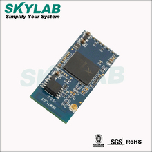 Skylab 802.11b/g/n 1x1WLANs UART wifi module atheros ar9331 SKW71 IC/FCC openWRT support AP/client/repeater mode I2S