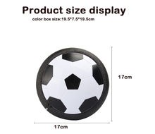 Air electric plastic kid educational football suspension toy hover ball