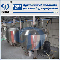 Modern agriculture technology sweet potato starch machinery | sweet potato starch equipment production line
