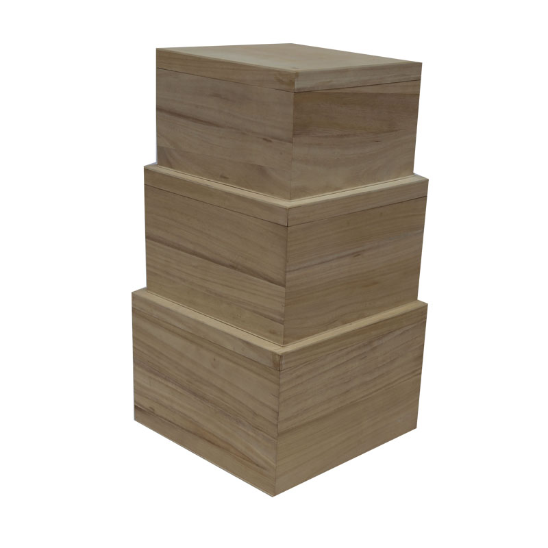 Promotional wooden box for flowers with cheap price