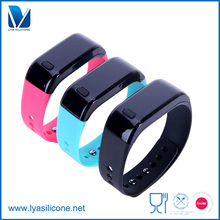 OEM High Quality Fitness Bands Soft Fashion Silicone Wristband For Smart Watch