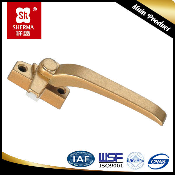 Aluminum window handle lock,window handle locks,removable window handle
