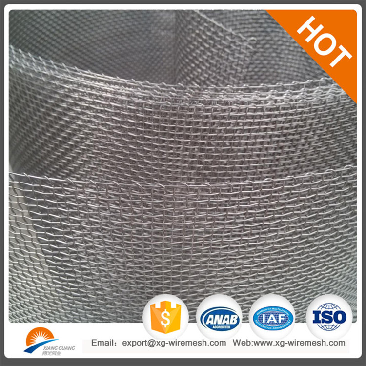Xiangguang Factory stainless steel wire gauze square mesh