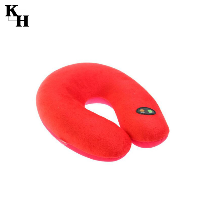 Electric neck massage memory foam travel pillow