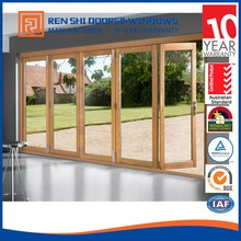 Renshi Brand Aluminium Folding Door Price