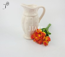 Latest Design Pu Artificial Flower Tulips for Wedding Decoration Artificial Colourful tulip silk flower with top quality
