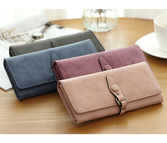 New products long portable business passport mujer purse