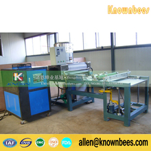Many clients want Fully automatic aluminum alloy manual beeswax foundation machine