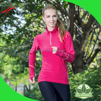 wholesale new york style woman long slleve running shirts