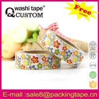 custom printed decorative printing painting masking tape for decorating