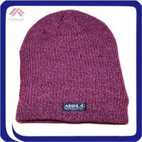 wholesale Children winter hats thick knit red beanie