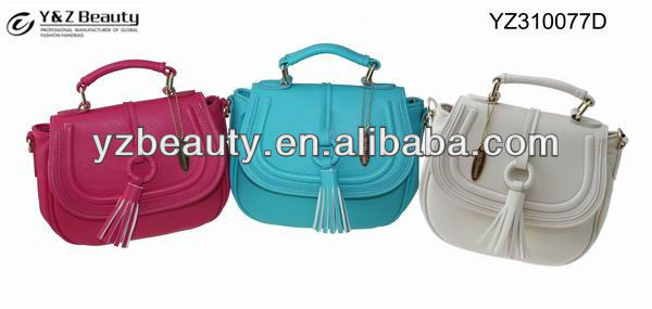 2013 Hot sale trendy ladies handbags original design leather tote bag