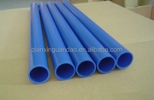 Good Quality Blue Color PVC Pipes And Fittings