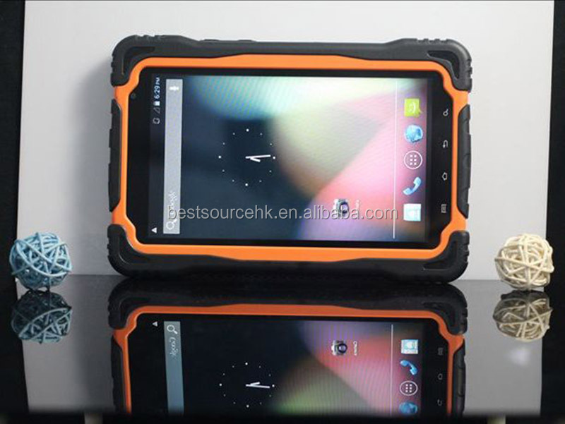 MTK6589 7inch Quad core waterproof dustproof shockproof Rugged tablet with 3G GPS WIFI Bluetooth pass CE and ROHs certification