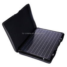 100W Monocrystalline foldable solar charger