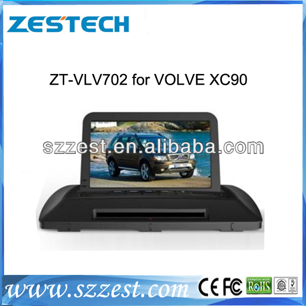 ZESTECH 2 Din digital touch screen Car DVD with gps navigation for volvo XC90