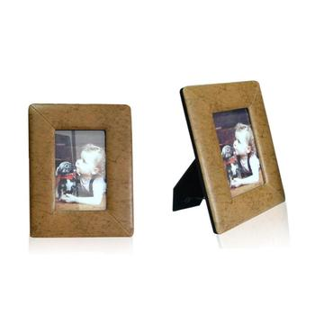 Personalized custom  aluminum window leather picture photo frame