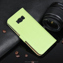 Multi color Magnetic Leather Phone Case Flip divided for Samsung Galaxy S8 Plus