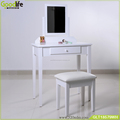 Guangdong manufactuer wooden designs of dressing table with almirah for amazon on line shop