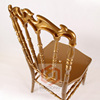 Gold Bride Chair