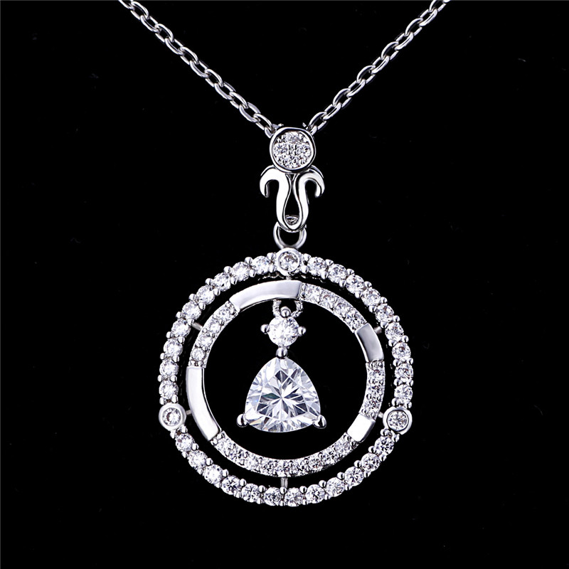 Best Friend Ring Pendant Neckalce with 3 colors Friendship Necklace For Girls
