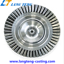 OEM Stainless Steel Turbine Wheel and Impeller Used for Turbocharger