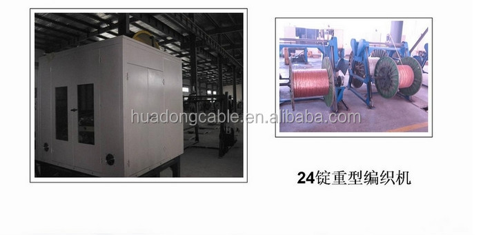 NSN NO. 6145-99-521-8373 ISO9001 CABLE ELECTRICAL 02 CORE COND 32/0.200mm, 440V 17 AMP (Tinned Copper Wire Braided)