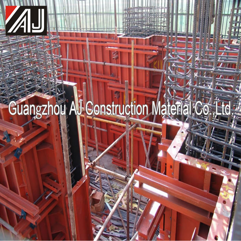 Economical reusable insulating concret formwork