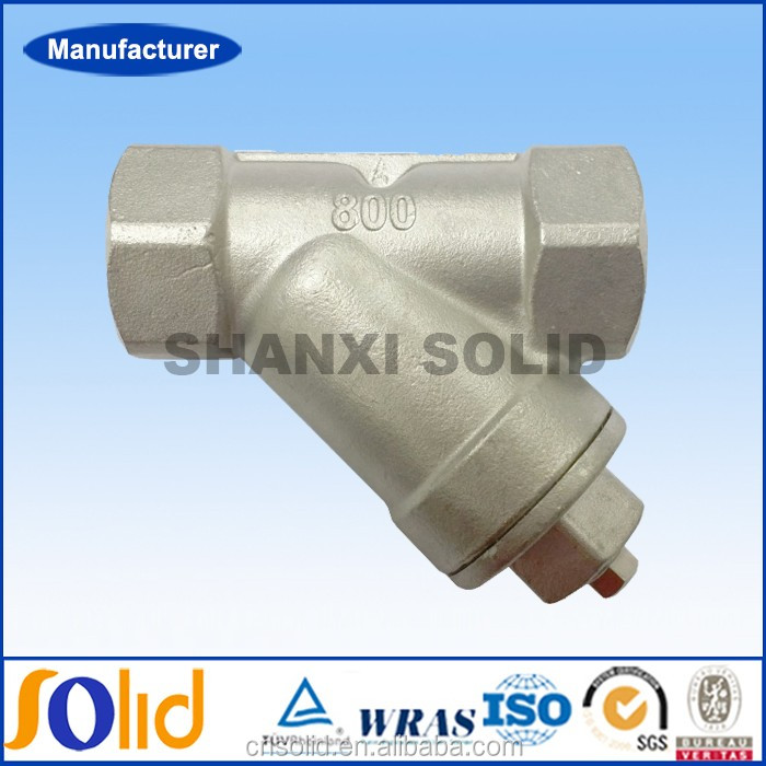 Carbon Steel /SS 316 NPT/BSP threaded end Y filter