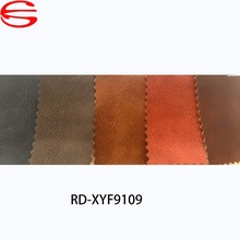 Embossed regenerate cow crust composite leather
