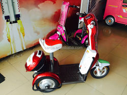500w-650w three wheel small lightweight electric mobility scooter for sale