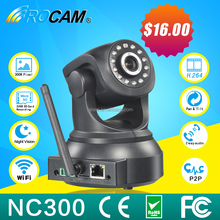 Mulit platform broswer, IE, Chrome, camera NC300 with free alarm monitoring software , camera rotating with pan&tilt cloud,