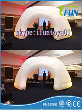 inflatable mini office / lighting offices inflatable tent / inflatable mini office pod with lights