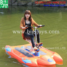 High quality adults cheap water bike pedal boats for sale