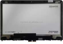 High quality multi touch screen panel for laptop S3 Yoga 14 00HT563 LP140WF3(SP)(D1) 04X5916