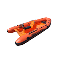 China High Quality Military RIB 480cm Hypalon Rigid Inflatable Boat With Paddles For sale