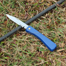 Dark Blue ABS Handle Wire Cut Cable Pocket Knife